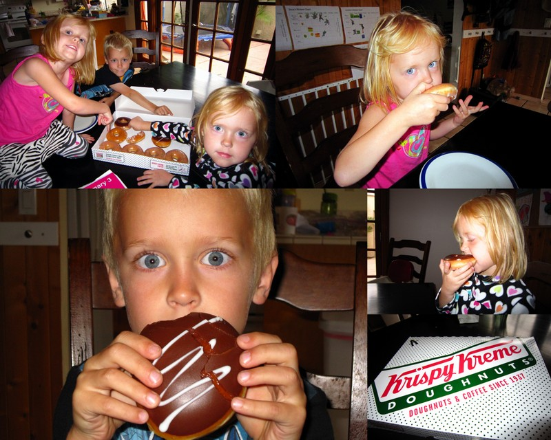 Donut Day and Kinder Graduation