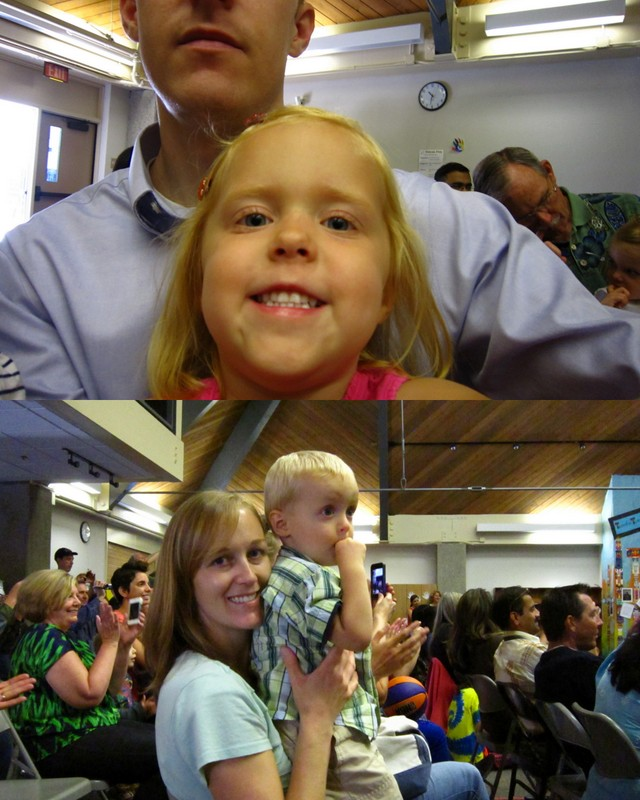 Donut Day and Kinder Graduation2
